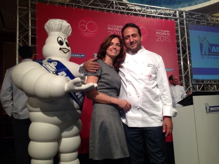Roberto Proto e Maria Morbi titolari del ristorante Saraceno di Cavernago