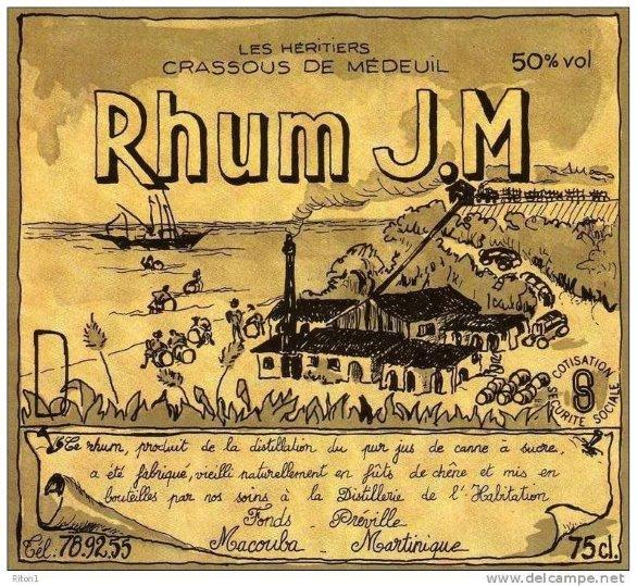 SAGNA - RHUM J.M
