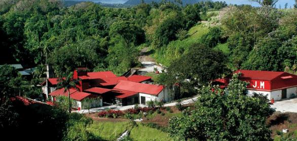 Azienda Rhum J.M in Martinica