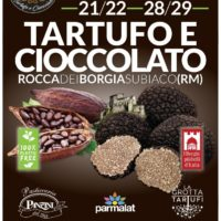 Tartufo e cioccolato a Subiaco