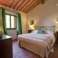 Camera da letto Casa Vecchia di Nozzole