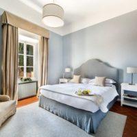 camera da letto della villa