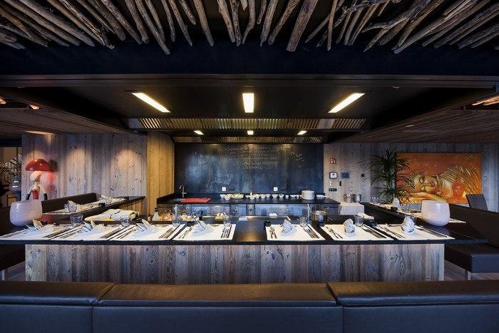 Teppanyaki ristorante in alto adige