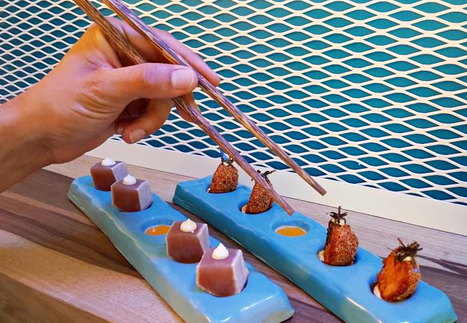 Tuna Catch e Salmon Balls