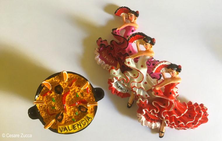 valencia calamite con balleria di Flamenco