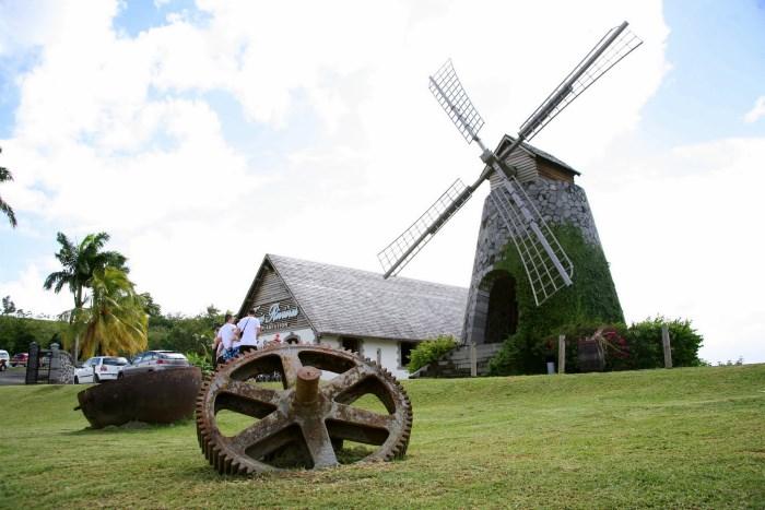 Antille francesi: Vecchio mulino a vento