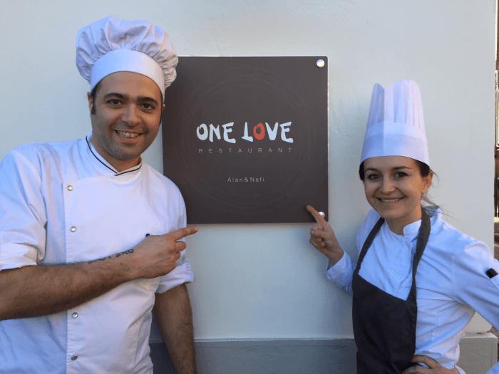Alan Foglieni e Nafi Dizdari One Love Restaurant a Bergamo