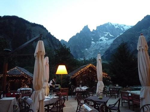 albergo Monte Bianco vicino ad Aosta