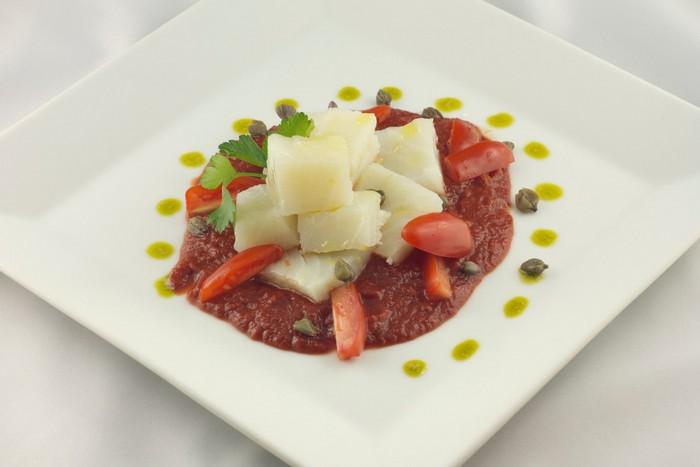 baccalà con pomodoro