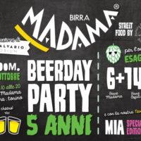 Birra Madama: festa di compleanno a Torino