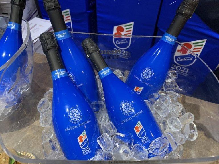 bottiglie di prosecco doc partner mondiali di sci