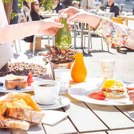 EATALY brunch in terrazza