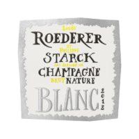 Champagne Brut Nature 2012 Roederer & Starck