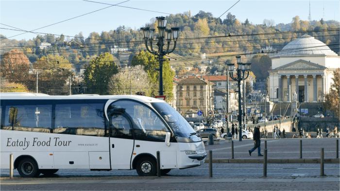 Bus Eataly a Torino