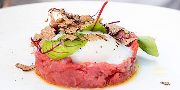 tartufo e carne cruda