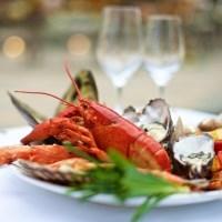 Cena a Torino con ostriche, pesce fresco e vini rosa