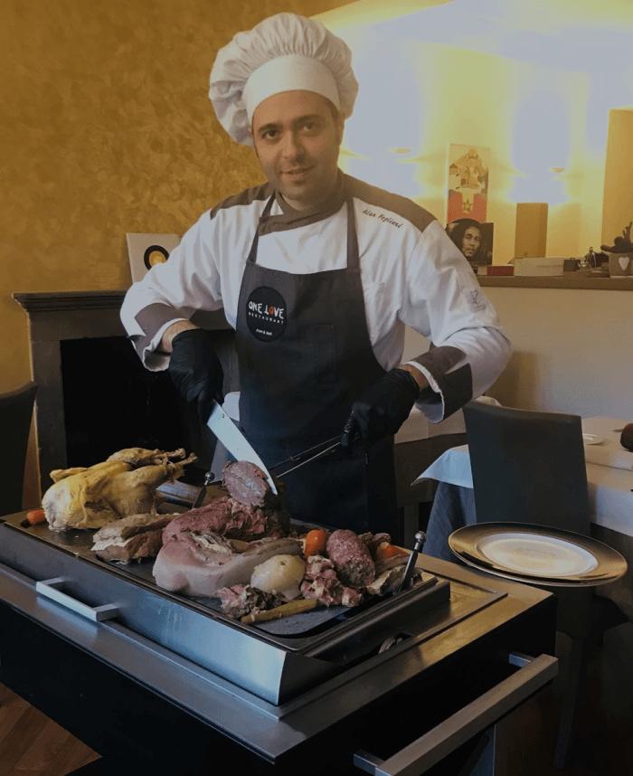 Bollito al One Love Restaurant a Bergamo