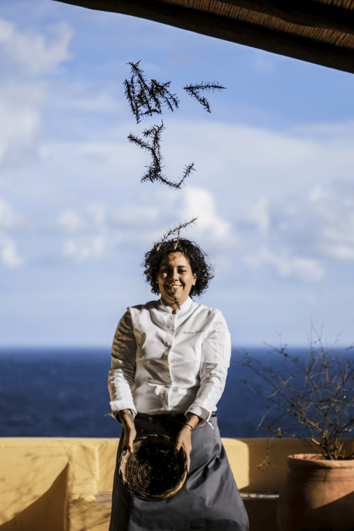 Chef Martina Caruso premio Michelin