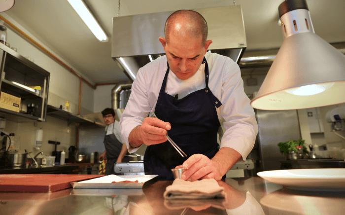 Chef stellato Damiano Nigro