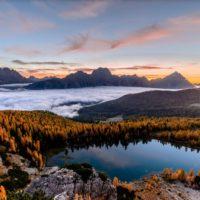 Autunno meraviglioso a Cortina