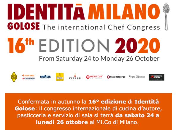 The international Chef Congress, 16^ Edizione, 2020