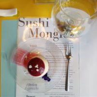 Sushi al moscato d'Asti DOCG con lo chef Chef Domenico Volgare