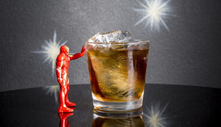 cocktail DRINK: DEMON IN A BOTTLE