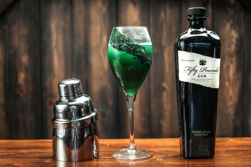 Cocktail con Fifty Pounds London Dry Gin LO SMERALDO
