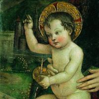 Opera del Pintoricchio: Bambin Gesù delle Mani