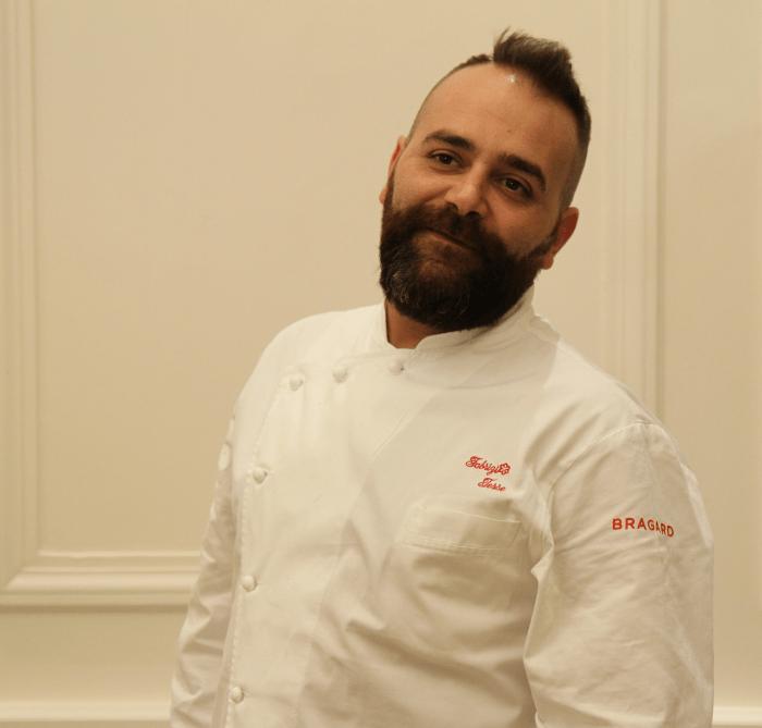 Fabrizio Tesse Chef presso Boscareto Resort