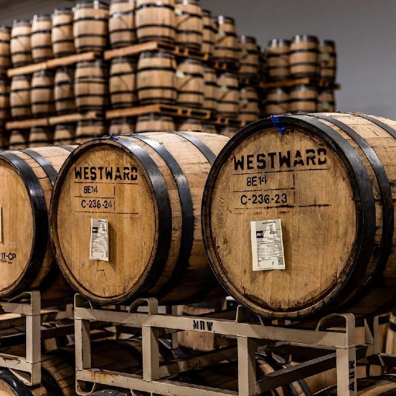 Botti per affinamento di whisky oregon westward