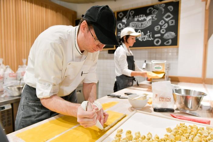 laboratorio di pasta fresca Eataly