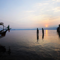 Boom di presenze per il lago di Garda veneto