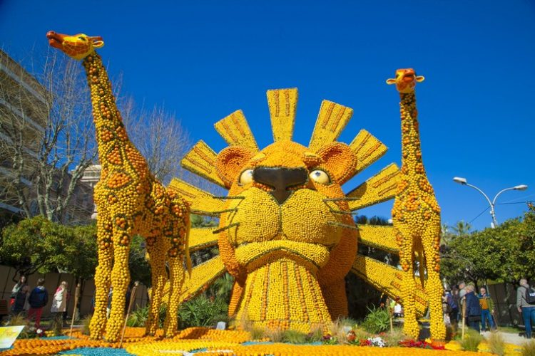 carneval du citron Mentone. Francia
