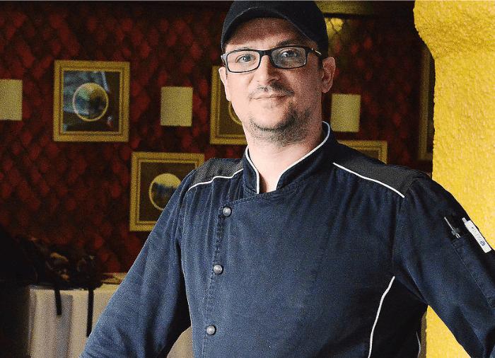 Luca Taretto Chef del Ristorante La Cloche