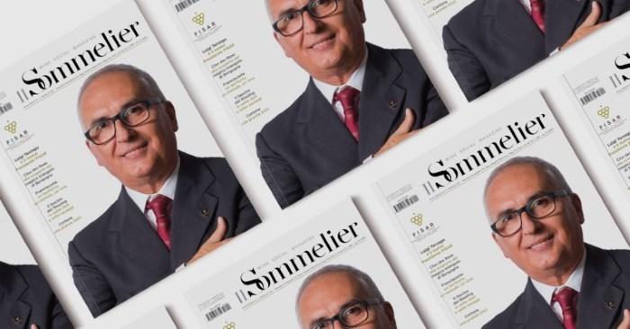 copertina Il Sommelier con Terzago nuovo presidente