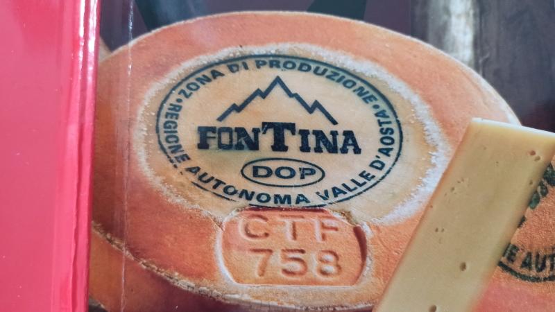 marchio di tutela della Fontina