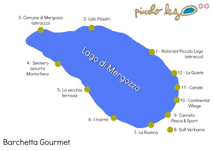mergozzo Itinerario