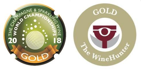 The Champagne & Sparkling Wine World Championships e WineHunter Award GOLD