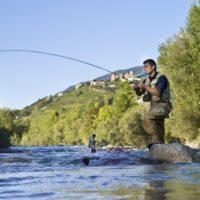Pesca sportiva vicino a Merano