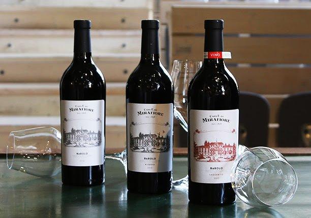 3 vini, 3 premi mirafiore-vini