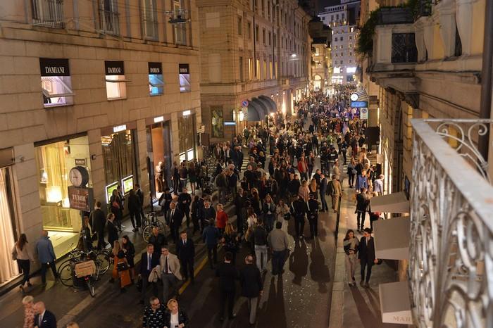 Vino e moda a Milano