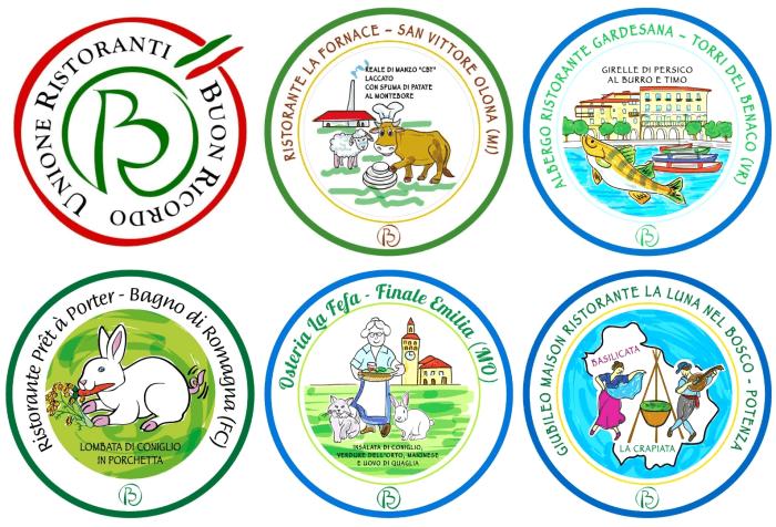 Nuove specialità gastronomiche Unione Buon Ricordo 2019
