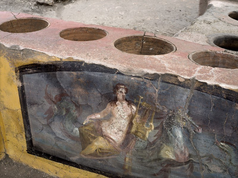 particolare nereide Pompei
