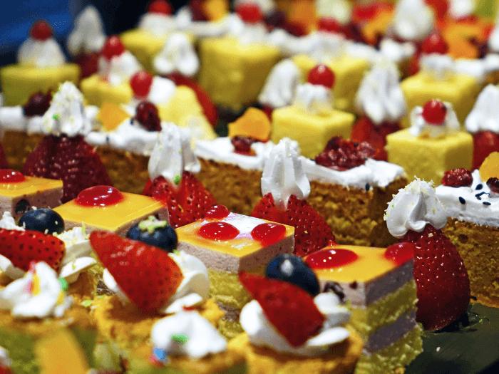 Pasticceria e cioccolato a Dolci Portici