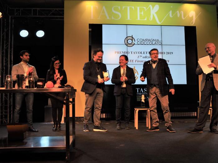 Premio Tavoletta d'Oro a Venchi