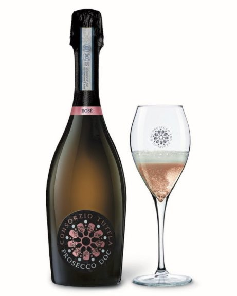 prosecco-rose con calice