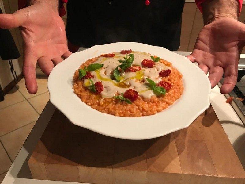 risotto brusciato Chef Antonio Bello