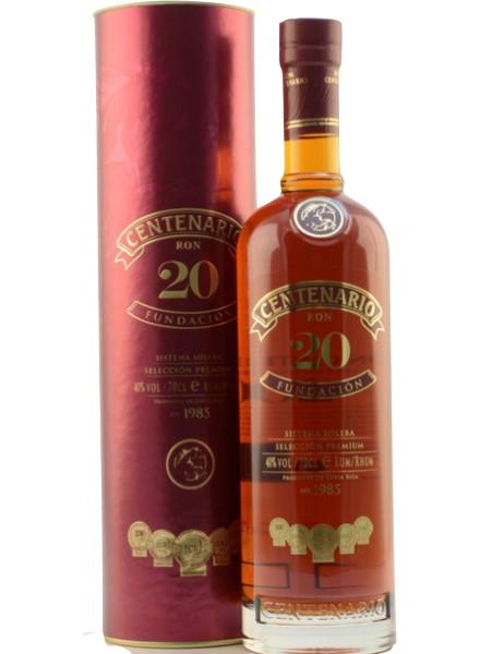 rum centenario 20 costa rica