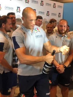 Sergio Parisse capitano Nazionale Italiana Rugby
